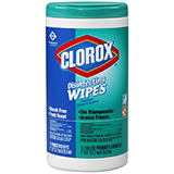CLOROX Disinfecting Wipes Canister, Fresh Scent. MFID: 01656