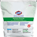 "CLOROX Healthcare Hydrogen Peroxide Cleaner Disinfectant Wipes Refill Pack, 12""x11"". MFID: 30827"