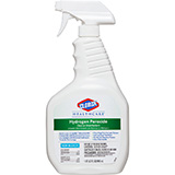 CLOROX Healthcare Hydrogen Peroxide Cleaner Disinfectant, Trigger Spray, 32 oz. MFID: 30828