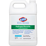 CLOROX Healthcare Hydrogen Peroxide Cleaner Disinfectant, Refill Bottle, 128 oz. MFID: 30829