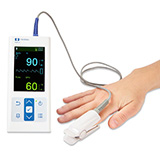 COVIDIEN NELLCOR Pulse Oximeter with Adult Durasensor Reusable Sensor. MFID: PM10N-NA
