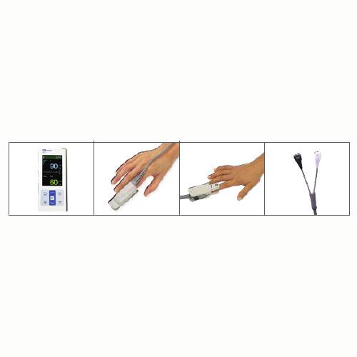 COVIDIEN NELLCOR Pulse Oximeter with Adult Durasensor Reusable Sensor &  Reusable Pediatric Sensor  MFID: PM10N-PDN ##Promotion Available- Limited