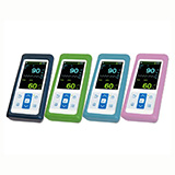 Green Protective Cover for Nellcor PM10N Pulse Oximeters. MFID: PMAC10N-G