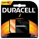 DURACELL Photo Battery, Alkaline, Size J, 6V, 6/bx. MFID: 7K67BPK