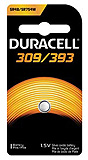 DURACELL Medical & Electronic Battery, Silver Oxide, Size 309/393, 1.5V, 6/bx, 6 bx/cs. MFID: D309/393