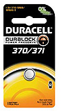 DURACELL Medical & Electronic Battery, Silver Oxide, Size 370/371, 1.5V, 6/bx, 6 bx/cs. MFID: D370/371BPK