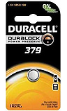 DURACELL Medical & Electronic Battery, Silver Oxide, Size 379, 1.5V, 6/bx, 6 bx/cs. MFID: D379BPK