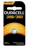 DURACELL Medical & Electronic Battery, Silver Oxide, Size 389/390, 1.5V, 6/bx, 6 bx/cs. MFID: D389/390PK