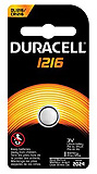 DURACELL Watch Battery, Lithium, Size DL1216, 3V, 6/bx, 6 bx/cs. MFID: DL1216BPK