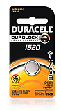 DURACELL Photo Battery, Lithium, Size DL1620, 3V, 6/bx, 6 bx/cs. MFID: DL1620BPK