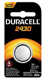 DURACELL Security Battery, Lithium, Size DL2430, 3V, 6/bx, 6 bx/cs. MFID: DL2430BPK