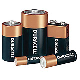 DURACELL Coppertop Battery, Alkaline, Size D, 12/pk, 6 pk/cs. MFID: MN1300