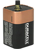 DURACELL Battery, Alkaline, 6V, Spring Top, 6/cs. MFID: MN908