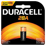 DURACELL Medical & Electronic Battery, Alkaline, Size 28A, 6V, 6/bx. MFID: PX28ABPK