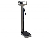 DETECTO Eye-Level Mechanical Stainless Steel Physician Scale-Dual Reading-(400lb/175kg) with height rod. MFID: 339S
