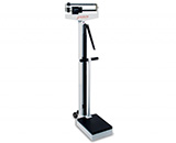 DETECTO Eye-Level Mechanical Physician Scale-Dual Reading-(400lb/175kg) with height rod & Handpost. MFID: 349