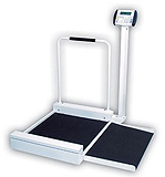 Detecto Stationary Digital Wheelchair Scale (400 lb/180 kg). MFID: 6495