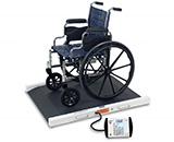 DETECTO Bariatric Wheelchair Scale, 1000 lb / 450 kg. MFID: 6500