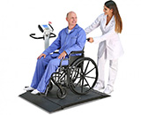 Detecto Portable Digital Wheelchair Scale (1000 lb/450 kg). MFID: 6550
