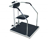 DETECTO Bariatric High Capacity Digital Scale with Flip-Up Seat, 1,000 lb /450 kg. MFID: 6868