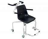 DETECTO Digital Rolling Chair Scale, 440 lb / 200 kg. MFID: 6880