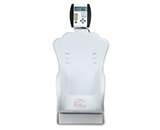 DETECTO Digital Dual Reading Baby Scale, 44 lb/ 20kg, Plastic Shell-Shaped Seat, White. MFID: 8432-CH