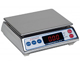 DETECTO Portion Control Scale, Capacity: 7.998 lb x .002 lb, Stainless Steel. MFID: AP-8
