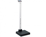 DETECTO apex Eye-Level Digital Clinical Scale, Includes AC Adapter, Mechanical Height Rod, 600 lb / 300 kg. MFID: APEX-AC