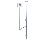 DETECTO Digital Height Rod / Stadiometer, Wall Mount. MFID: DHRWM