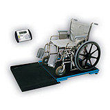 Detecto Stationary Geriatric -Geri-Chair- Wheelchair Scale (1000 lb/ 450 kg), 3' x 3' Platform. MFID: FHD-133-II