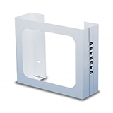 DETECTO Steel Glove Box Holder, Wall Mount, Holds 2 Glove Boxes. MFID: GH2