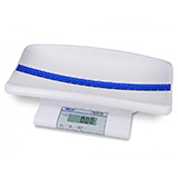 DETECTO Digital Pediatric Scale with Removable Baby Tray, Converts to a Step-On Toddler Scale, 40 lb Capacity. MFID: MB130