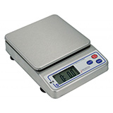 DETECTO Portion Control Scale, Capacity: 11lb / 5000g, Stainless Steel, Commodity Tray. MFID: PS-11