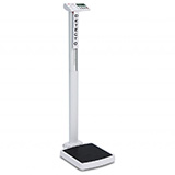 DETECTO solo Digital Clinical Scale, Mechanical Height Rod, 550 lb / 250 kg. MFID: SOLO
