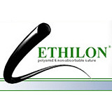 "ETHICON Suture, ETHILON, Taper Point, TP-1, 48"", Size 1. MFID: 824G"