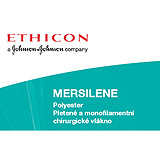 "Ethicon MERSILENE Suture, Blunt Point, BP / BP, 12"", Size 5MM, 6/box. MFID: RS20"