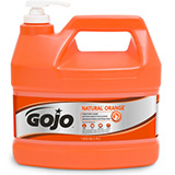 GOJO NATURAL ORANGE Pumice Hand Cleaner, 1 Gallon Pump Bottle. MFID: 0955-04