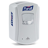 PURELL LTX-7 Touch-Free Dispenser, for PURELL 700mL Hand Sanitizer Refills, White. MFID: 1320-04