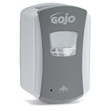 GOJO LTX-7 Touch-Free Foam Soap Dispenser for GOJO 700mL Soap, Grey/White. MFID: 1384-04