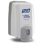 PURELL NXT MAXIMUM CAPACITY Dispenser, Push-Style for PURELL 2000mL NXT Hand Sanitizer Gel Refills. MFID: 2220-08