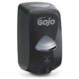 GOJO TFX Touch-Free Soap Dispenser for GOJO 1200mL Foam Soap Refills, Black. MFID: 2730-12