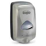 GOJO TFX Touch-Free Soap Dispenser for GOJO 1200mL Foam Soap Refills, Nickel. MFID: 2789-12