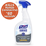 PURELL Professional Surface Disinfectant, 32 fl oz Capped Bottle with Spray Trigger. MFID: 3342-06
