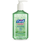 PURELL Advanced Hand Sanitizer Soothing Gel with Aloe & Vitamin E, 12 fl oz Table Top Pump Bottle. MFID: 3639-12