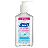 PURELL Advanced Hand Sanitizer Skin Nourishing Gel, 12 fl oz Table Top Pump Bottle. MFID: 3646-12