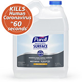 PURELL Professional Surface Disinfectant, 1 Gallon Refill Bottles. MFID: 4342-04