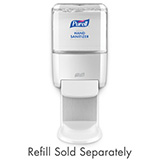 PURELL ES4 Hand Sanitizer Dispenser, Push-Style, for PURELL 1200mL Hand Sanitizer, White. MFID: 5020-01