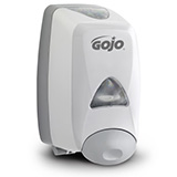 GOJO FMX-12 Push-Style Dispenser for GOJO Foam Soap, Gray. MFID: 5150-06