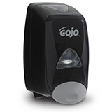GOJO FMX-12 Push-Style Dispenser for GOJO Foam Soap, Black. MFID: 5155-06