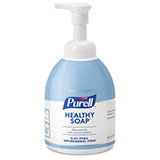 PURELL Foaming Antimicrobial Handwash with PCMX, 535mL Counter Top Pump Bottle, Light Blue. MFID: 5745-04